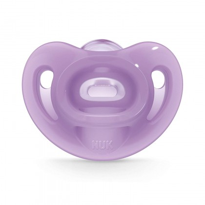 NUK Sensitive Orthodontic Pacifiers / Soother Girl 0-6 Months (Single Pack)