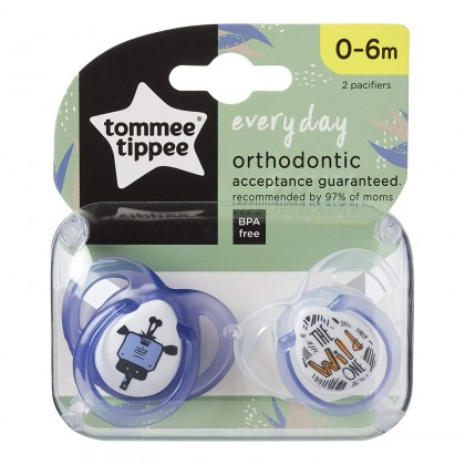 Tommee Tippee Closer to Nature Anytime with 0-6m BLUE