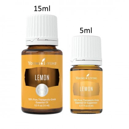Young Living Lemon Essential Oils 5ml &15ml