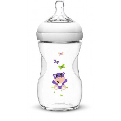 Philips AVENT Natural 260ml (9oz) Special Edition (Hippo)