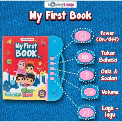 MOMMYHANA My First Book (With 3 Gift)