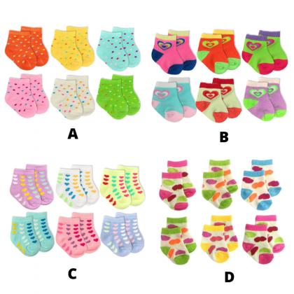 BeeSon Baby Socks Girl (RANDOM COLOUR)