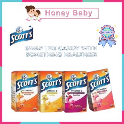 Scotts Vitamin C Pastilles (15's/50's) Orange/Pic/Berry