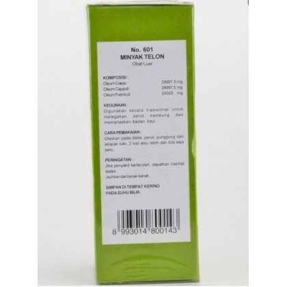 Original Bebiku Minyak Telon (30ml/75ml)