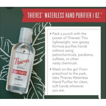 Young Living Thieves Waterless Hand Sanitizer 29ml