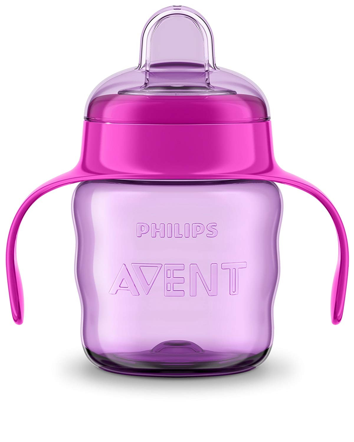 200ml Philips Avent Easy Sip Spout Sippy Cup Easy Hold Handles /& Hygienic Lid