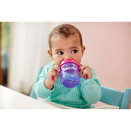 Philips Avent Easy Sip Spout Cup with Handle 200ml (7oz) Purple