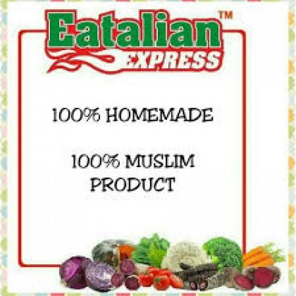 Mixed Vege Pasta Fusili Baby Food Eatalian Express Macaroni/Shell/Star/Fusili 600g